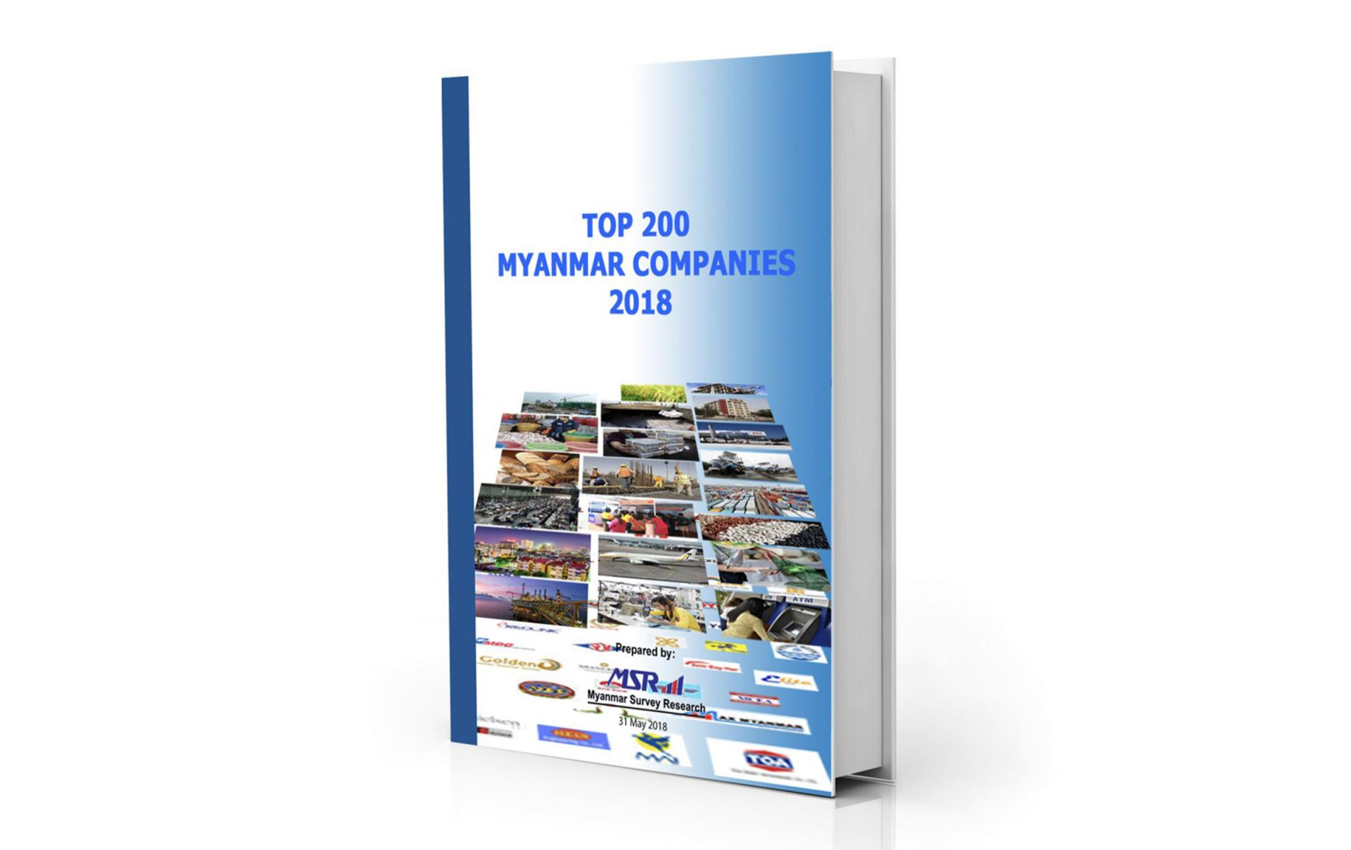 TOP 200 MYANMAR COMPANIES 2019 – available as of June 2019